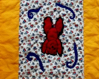 "Child's  Quilt Pattern, ""Little Handstand Bear"""