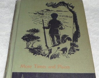 More Times and Places The New Cathedral Basic Readers Vintage Book