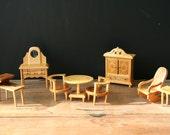 SALE 45% OFF Wood Dollhouse Furniture