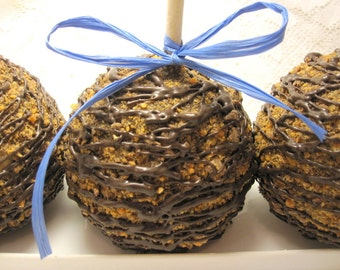 3-Pack Butterfinger Chocolate Candy Apples