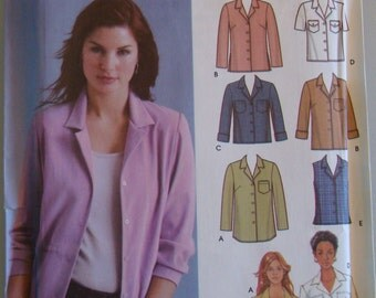 OOP  Simplicity Womens Sewing Pattern 5455 size 6 - 12 Uncut