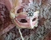 Bridal Brilliance - Custom Venetian Mask