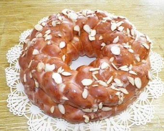 Sweet Bread or German Easter Bread.