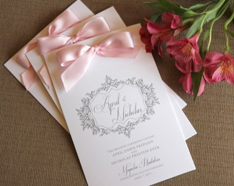 Reserved Wedding Programs, Wedding Program, Ceremony Program, Wedding, Choose color