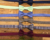 Men's Custom Bowtie- NEW SPRING COLORS
