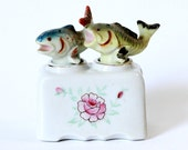 Vintage Salt & Pepper Shaker Bobble Fish