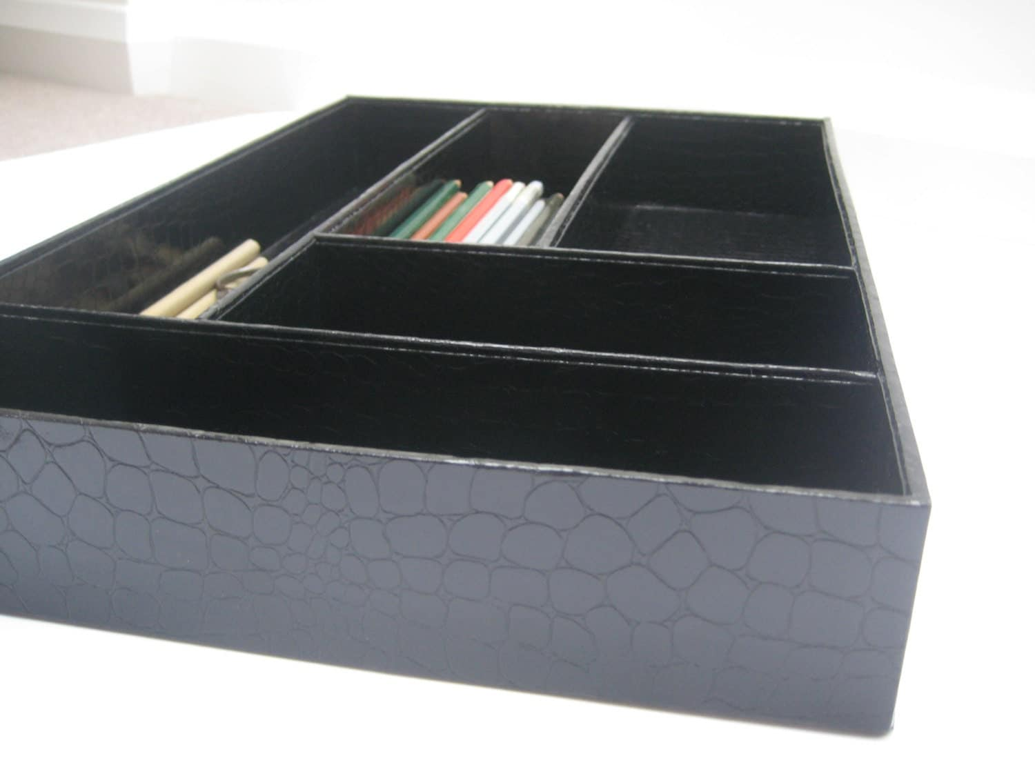 Items similar to desk drawer organizer great storage for - Desk drawer organizer ...