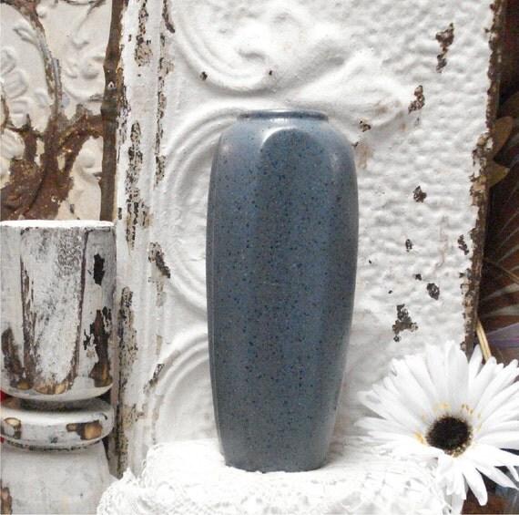 Blue Haeger Pottery Vase Excellent VTG