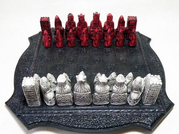 Small medieval lewis chess set moulds 9 by nicscreationcorner - Lewis chessmen set ...