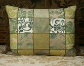 Fortuny Patchwork Pillow With Antique Trims