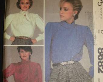 Vintage McCall's Blouse Pattern 8682