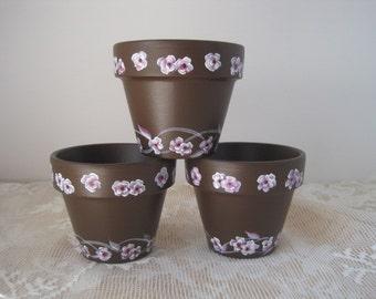 Cherry Blossom Tealight Holder Flower Pots