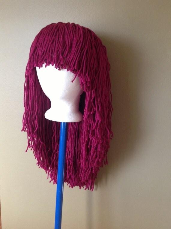 Handmade Crochet Yarn Hair Wigwomen Baby Kids Hair By