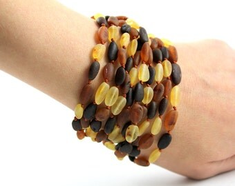 Natural Baltic Amber Bracelet or Necklace