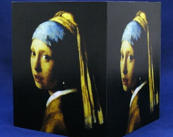 Tissue Box Cover Girl with a Pearl Earring