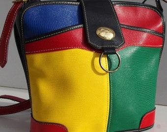 Vintage Shoulder Bag, French Vintage Purse, Shoulder Bag