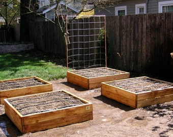 Raised Bed Garden Frame Plan