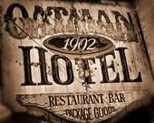 Vintage Oatman Hotel Sign DO2847 Fine Art Digital Photo 8x10