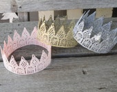 Adult Taller Crown, Princess Crown, Adult Princess Crown, Adult lace crown, Lace Crown
