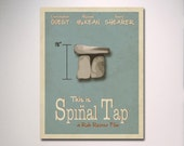 This Is Spinal Tap Minimalist Movie Poster / Music Room / Movie Room / Choose Your Size Wall Art