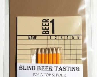 Blind Beer Tasting Kit