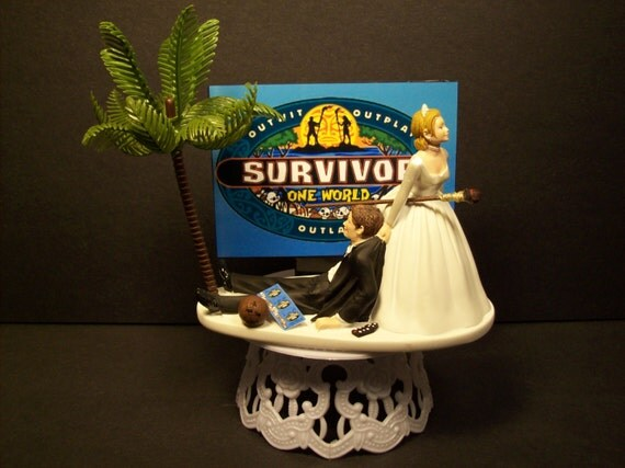 wedding cake reality tv show reality tv and groom wedding cake topper by 23596
