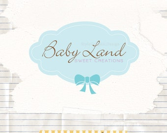 Custom boutique logo premade and watermark ooak branding