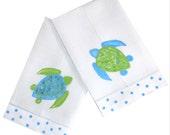 Sea Turtle Guest Towels