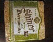 Shiner Dortmunder Natural Stone Coaster