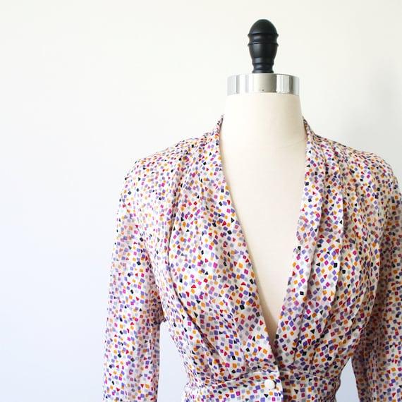 PIERRE BALMAIN Vintage Top Blouse M// 80s Women by ...
