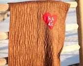 Custom Tree Carving Love Quilt