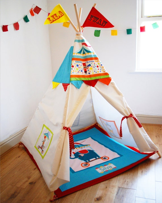 Items Similar To Circus Play House Teepee For Children 39 S