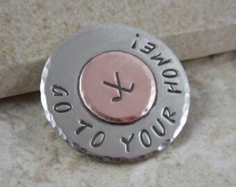 Golf Ball Marker - Customized - Personalized Marker