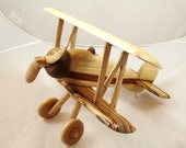 Bi-Plane exotic woods ready to fly. Free Shipping