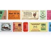 masking tape (tickets)