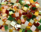 MOSAIC FLOWER MIX -  Mosaic Stained Glass Tile Supply B43