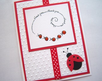 Lucky Ladybug Thank You Card