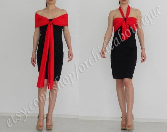 Little black  Party convertible dress summer dress