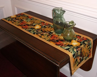 Autumn Colors Table Runner or Mantel Cover 50 inches