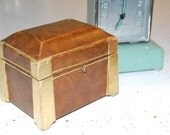 Virgin Diamonds Antique Jewelry Presentation Box - A True Art Deco Masterpiece