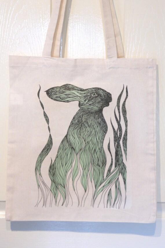 Cotton tote bag - Rabbit - LAST 2