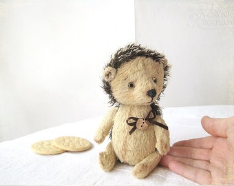 PATTERN Download to create Teddy like Hedgehog Pechenka 7 inches