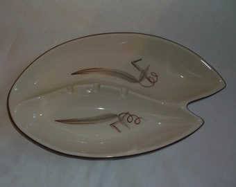 Vintage Winfield Pottery Passion Flower Large Ashtray California