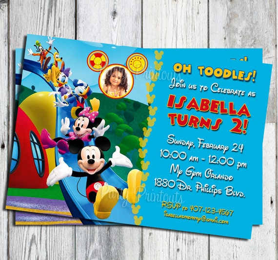 Mickey Mouse Birthday Invitations is best invitation layout
