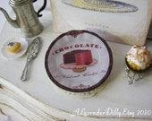 Sweets Velvet Cake Plate for Dollhouse