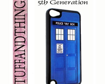 iPod Touch 5  Vintage British Police Call Box  Cover Case for iTouch 5