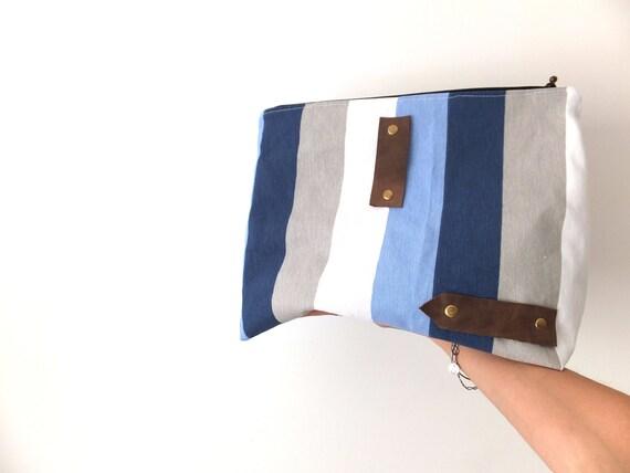 Sale dopp bag / On sale toiletry bag / Men travel pouch / Male necessaire organizer /  Travel Toiletry Case/Bag / Stripped men bag