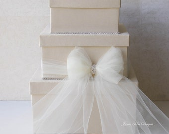 Wedding Card box, Money Card Box- Custom Made to Order