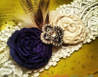 The Arabella Garter Set YOU CHOOSE COLORS / Wedding garter / bridal garter / toss garter / Something Blue wedding garter / vintage