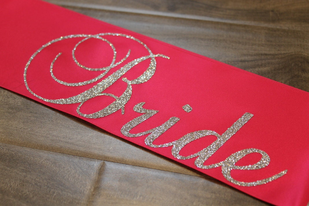 Bride To Be Sash Future Mrs Bride By Myeverydaydesign On